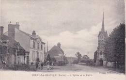 SULLY-la-CHAPELLE - L'Eglise Et La Mairie - Animé - Autres Communes