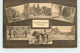 ZWEIBRÜCKEN - Fasanerie. (carte Multivues). - Zweibruecken