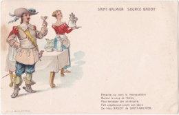 42. SAINT-GALMIER. Source Badoit. Panache Au Vent... - Autres Communes
