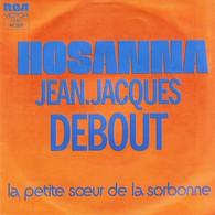 """Jean Jacques Debout  """"  Hosanna  """" - Vinyles"""