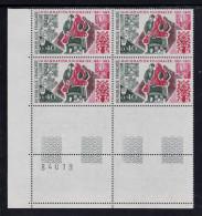FRANCE 1973 Un Bloc De Quatre (4) YT N° 1740**  - Immigration Polonaise De 1921-23 CDF Numéro - Neufs