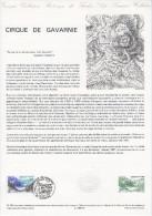 """Document Philatélique Officiel De 1988 """" CIRQUE DE GAVARNIE """" N° YT 2547. Parfait état ! DPO - 1980-1989"""