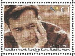 KOS 2015-319 UKSIN HOTI, KOSOVO, 1 X 1v, MNH - Kosovo