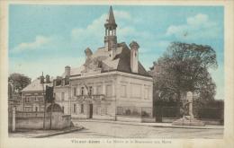 02 VIC SUR AISNE / Mairie Et Le Monument Aux Morts / - Vic Sur Aisne
