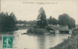 02 VIC SUR AISNE / Ecluse Batie En 1840 / - Vic Sur Aisne