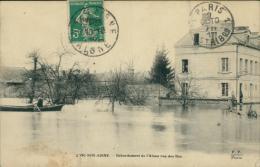 02 VIC SUR AISNE / Débordement De L'Aisne Rue Des Iles / - Vic Sur Aisne