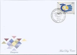 KOS 2015-320 DISPORA, KOSOVO, FDC - Kosovo