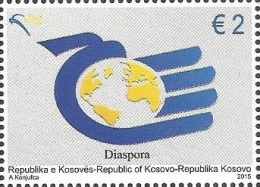 KOS 2015-320 DISPORA, KOSOVO, 1 X 1v, MNH - Kosovo
