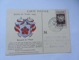 JOURNEE DU TIMBRE 1949 - FDC