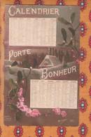 1 Cpa Calendrier 1917 - Fantaisies