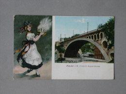 Ref 4533 CPA Plauen I. V Friedrich August Brucke. Ottmar Zieher, Munchen. - Plauen