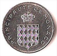 MONACO 1 C EPI 1977 Tirage 25.000 Seult ! - Coins