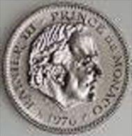 MONACO 5 F RAINIER 1976 Cupro Nickel Qualité FDC Scellé, 6.000 Ex. Seulement ! - Coins