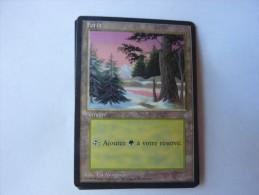 Magic The Gathering Terrain Forêt - Zonder Classificatie
