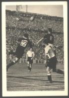 GERMANY -  FUSSBALL  WELT - Stickers N. 13 -  DEUTSCHLAND  V. UNGARN  In BASEL  -1954 - Adesivi
