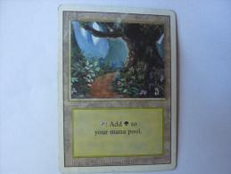 Magic The Gathering Land Forest - Jeux De Société