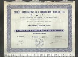 Lotto 7 Documenti  Doc.187 - Azioni & Titoli