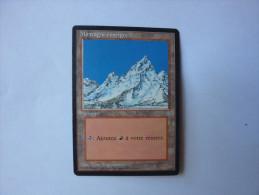 Magic The Gathering Terrain Montagne Enneigée - Zonder Classificatie