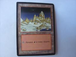 Magic The Gathering Terrain Montagne - Jeux De Société
