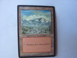 Magic The Gathering Terrain Montagne - Zonder Classificatie