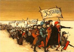 AK 35 Stunden Sind Genug 1979 Gertrude Degenhardt Österreich ÖGB Demonstration Woche Politik Arbeitsplätze Gewerkschaft - Ereignisse