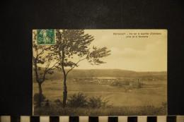 CP, 70, HERICOURT Vue Sur Le Quartier D'Artillerie Prise De La Rouchotte Voyagé En 1909 - Autres Communes