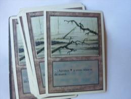 Magic The Gathering Terrain Marais - Non Classés