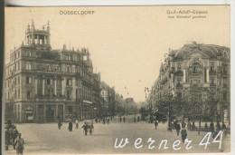 Düsseldorf V. 1905 Graf-Adolf-Strasse Vom Bahnhof Gesehen  Mit Hotel Hansa,Cigarren-Geschäft  (6465) - Düsseldorf