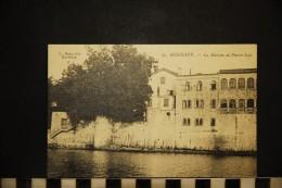 CP, 64, HENDAYE La Maison De Pierre Loti N° 27 Vierge Ed L Bosq - Hendaye