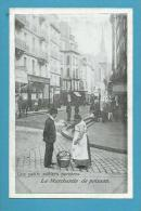CPA N° 46 LES PETITS METIERS PARISIENS La Marchande De Poisson - Edit. LAAS Et PECAUD - Petits Métiers à Paris
