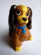 "Figurine DISNEY BULLY "" LA BELLE ET LE CLOCHARD "" BELLE - Disney"