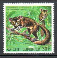 COMORES. N°176 De 1977. Lémurien. - Apen