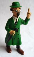 RARE FIGURINE TINTIN  BULLY 1990 TOURNESOL 2 CANNE Bras 1er Tirage PLASTIQUE MOU BULLYLAND - Tintin