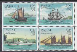 PALAU, 1984 UPU BLOCK  4 MNH - Palau