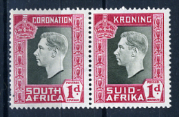 1937 - SUD AFRICA - SOUTH AFRICA - Yvert.  Nr. 79+84- LH -  (PG2082015...) Acc. Orizzontale - Sud Africa (...-1961)
