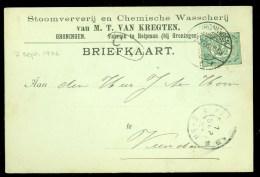 HANDGESCHREVEN BRIEFKAART Uit 1906 Van HELPMAN  Naar VEENDAM   (9840j) - Covers & Documents