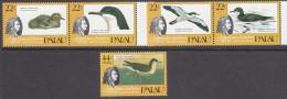PALAU, 1985 AUDUBON BIRDS 5 MNH - Palau