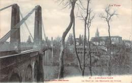 81 - L'Isle-sur-Tarn - Le Pont Et Les Remparts Du Rivage - Lisle Sur Tarn