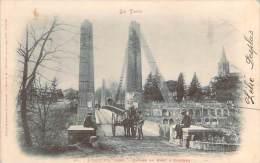 81 - L'Isle-sur-Tarn - Entrée Du Pont & Clocher (attelage) - Lisle Sur Tarn