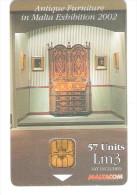 Malta - Malte -  Antique Furniture - Riccione 2002 - Malta