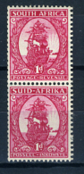 1941/43 - SUD AFRICA - SOUTH AFRICA - Yvert.  Nr. 149+152 - LH -  (PG2082015...) Acc. Orizzontale - Sud Africa (...-1961)
