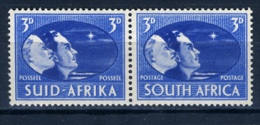 1946 - SUD AFRICA - SOUTH AFRICA - Yvert.  Nr. 159+156 - LH -  (PG2082015...) Acc. Orizzontale - Sud Africa (...-1961)