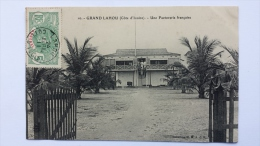 GRAND LAHOU Cote D'Ivoire UNE FACTORERIE FRANCAISE Afrique CPA Animee Postcard - Ivory Coast