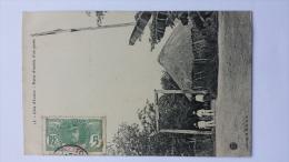 COTE D'IVOIRE 15 PORTE D'ENTREE D'UN POSTE Fort DESSUZE Afrique CPA Animee Postcard - Ivory Coast