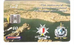 Malta - Malte -  75th Anniversary Of Interpol - Malta