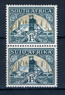 1948 - SUD AFRICA - SOUTH AFRICA - Yvert.  Nr. 168/169 - LH -  (PG2082015...) Acc. Orizzontale - Sud Africa (...-1961)