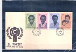 FDC St.Vincent - Année Internationale De L'enfance - Série Complète (à Voir) - St.Vincent (1979-...)