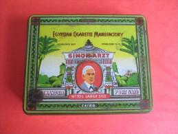 Boite En Fer/Cigarettes/Simon Artz/Egyptian Cigarette Manufactory/Alexandrie/Port-Saïd/Egypte/Vers 1930-50  BFPP42 - Boîtes