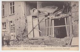 Poperinge, Poperinghe, Oorlog 1914-18, Huizen in de Veurnestraat (pk22425)