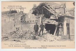 Poperinge, Poperinghe, Oorlog 1914-18, Huizen in de Veurnestraat, M Camerlynck (pk22426)